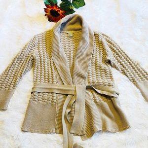 H&M Cadigan Robe Sweater size S